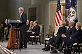 Secretary Kerry Delivers Remarks at a Reception Celebrating the Completion of the U.S. Diplomacy Center (31873987110).jpg