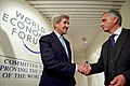 Secretary Kerry Thanks Swiss Foreign Minister Burkhalter for Their Support in Freeing Americans Held Unjustly in Iran at the World Economic Forum in Davos (24439131731).jpg