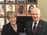 Secretary Richardson and Dr. Debra Derr (33874548593).jpg