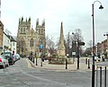 Selby, the Market Cross, Market Place - geograph.org.uk - 108316.jpg