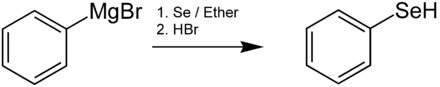 Selenophenol-Synthese
