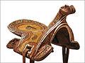 Selle de cheval (Ouzbékistan, musée du Quai Branly) (5496765284).jpg