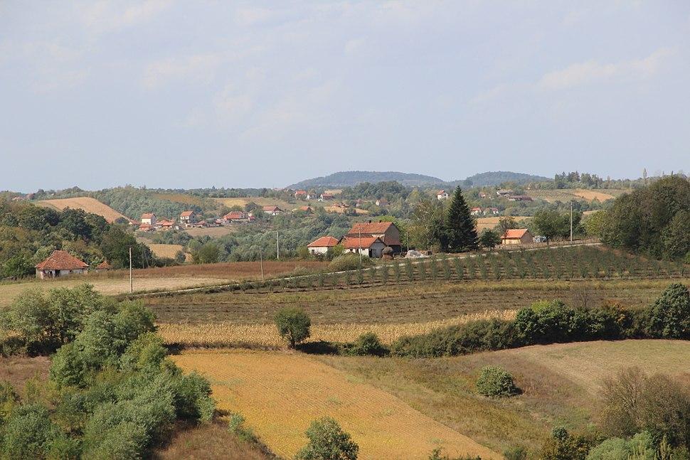 Selo Blizonje - opština Valjevo - zapadna Srbija - Panorama 1