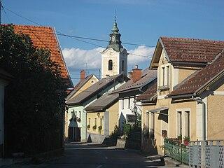 Settlement in Lower Carniola, Slovenia