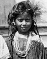 Seminole girl (left) face detail, Ruby Jumper Billie holding her infant Billie L. Cypress (2987122030) (cropped).jpg