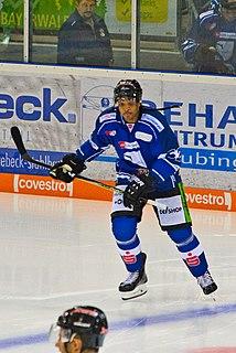 Sena Acolatse American-Canadian ice hockey player