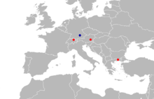 Seorsumuscardinus is known from a site in northeastern Greece, one in southeastern Austria, and one in northeastern Switzerland in MN 4 and from a site in southeastern Germany in MN 5.