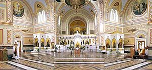 Chersonesus Cathedral - Interior of St. Vladimir Cathedral