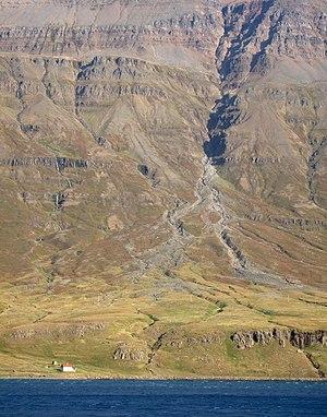 Seyðisfjörður - View near Seyðisfjörður, 2008