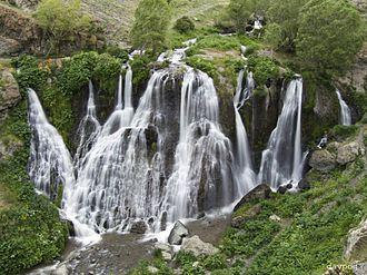 Shaki Waterfall - Image: Shaki waterfall