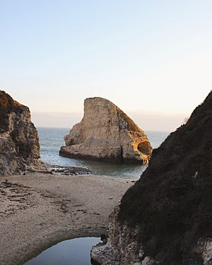 Davenport, California - This is a famous photographer spot along the coast of Davenport, CA. called Shark Fin Cove. Picture by mattjphotos )