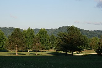 Shawnee State Park (Ohio) - Image: Shawnee Golf Course July 2007