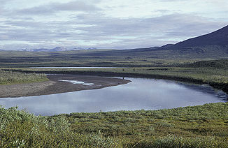 Sheenjek River im Yukon Flats National Wildlife Refuge