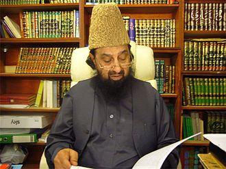 Sheikh - Pakistani Sheikh Syed Abdul Qadir Jilani, a prominent Sunni scholar.