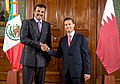 Sheikh Tamim bin Hamad Al Thani meets with Enrique Peña Nieto, November 2015.jpg