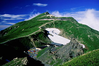 mountain in Nagano Prefecture, Japan