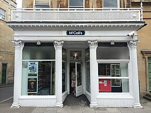Argyle Street, Bath - Image: Shopfront 6 Argyle Street, Bath June 2014