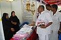 Shri D. Venugopal, MP, inspecting stalls at the Bharat Nirman Public Information Campaign, at Chengam in Thiruvannamalai district of Tamil Nadu on September 12, 2011.jpg