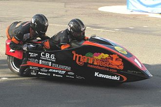 Dave Molyneux - Image: Sidecar Thurs Practice IMG 00257