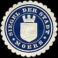 Siegelmarke Siegel der Stadt - Moers W0226243.jpg