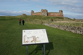 Clan Douglas - The ruins of Tantallon Castle, a stronghold of the Douglases from 1374 to 1699.