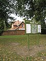 Sign in Manor Park - geograph.org.uk - 993476.jpg