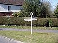 Signpost in Wonston - geograph.org.uk - 139927.jpg