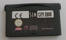 Simcity2000 advance cartridge by zeartul.jpg