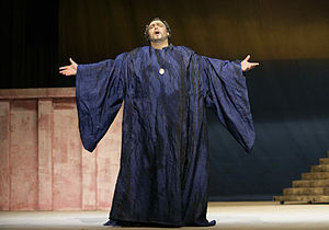 Croatian National Theatre in Split - Kiril Manolov in the title role of Simon Boccanegra, Croatian National Theatre in Split, 2007