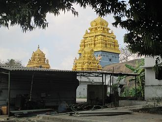 Padalathri Temple - Narasimha temple towers.