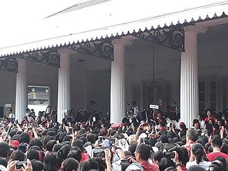Basuki Tjahaja Purnama - The singing protest for Ahok arranged by Addie MS.