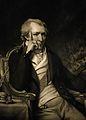Sir Benjamin Thompson, Count von Rumford. Mezzotint by J. R. Wellcome V0005800.jpg