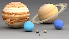 Size planets comparison