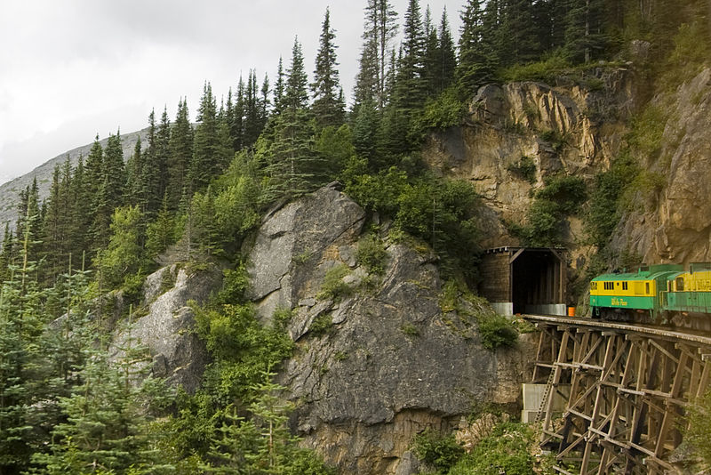Skagway-Hoonah-Angoon Census Area, In to the Tunnel.jpg