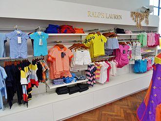 Ralph Lauren Corporation - Children's clothing at department store Smith & Caughey's Queen Street in Auckland, New Zealand