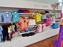 Children's clothing at department store Smith & Caughey's Queen Street in  Auckland, New Zealand