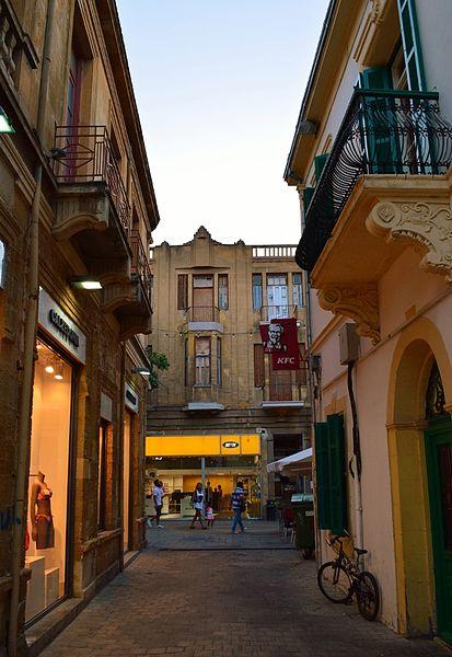 File:Socratous Street old Nicosia view towards Ledra Street Republic of Cyprus.jpg