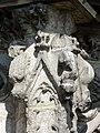 Soissons (02), abbaye Saint-Jean-des-Vignes, cloître gothique, galerie ouest, amortissement d'un contrefort (du nord au sud) 3.jpg
