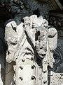 Soissons (02), abbaye Saint-Jean-des-Vignes, cloître gothique, galerie ouest, amortissement d'un contrefort (du nord au sud) 5.jpg