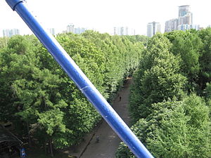 Sokolniki Park - View of Sokolniki from the Ferris wheel