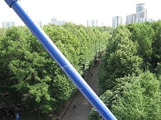 Sokolniki Park - View of Sokolniki from the Ferris wheel