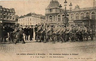 1914—1918 military occupation
