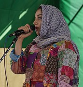 Sonia Mann at Farmers' Protest (15th February 2021) 02 (cropped).jpg