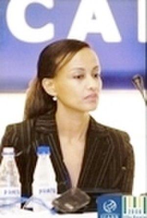 Sophia Bekele -  Sophia at the ICANN  meeting in São Paulo Brazil Dec. 2006