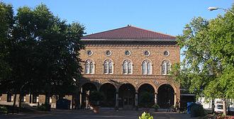Soulard, St. Louis - The Soulard Market in the northern portion of the Soulard neighborhood.
