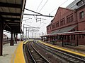 Southbound view at New London Union Station.JPG