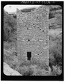 Southeast elevation - Square Tower Group, Square Tower, Near park headquarters, Aneth, San Juan County, UT HABS UTAH,19-ANET.V,1A-1.tif