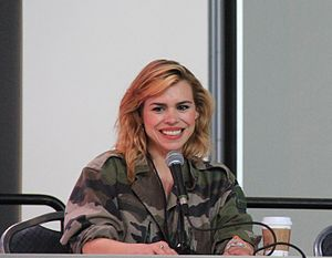 Doomsday (Doctor Who) - Doomsday featured the departure of Rose Tyler portrayed by Billie Piper (pictured) who made the decision to leave the role a year prior.