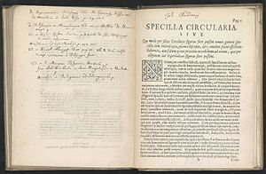 Johannes Hudde - Specilla circularia, a text on telescopes from 1656 by Johannes Hudde