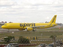 Spirit airlines wikipedia the free encyclopedia for Spirit airlines new york